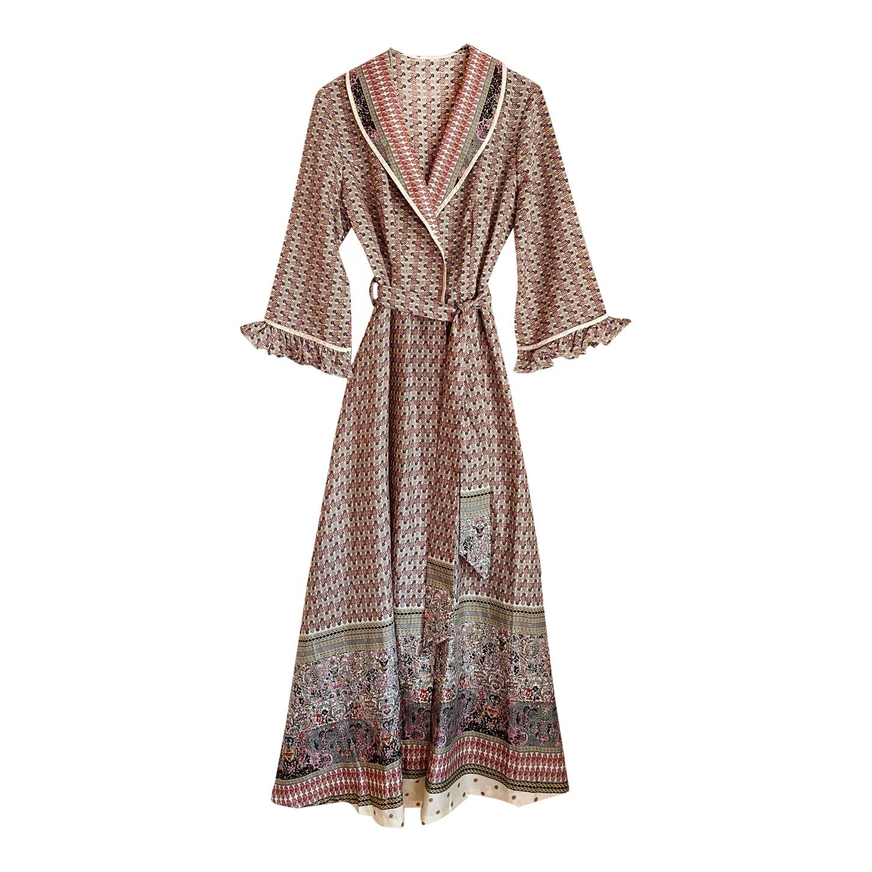 Kimono long Paisley