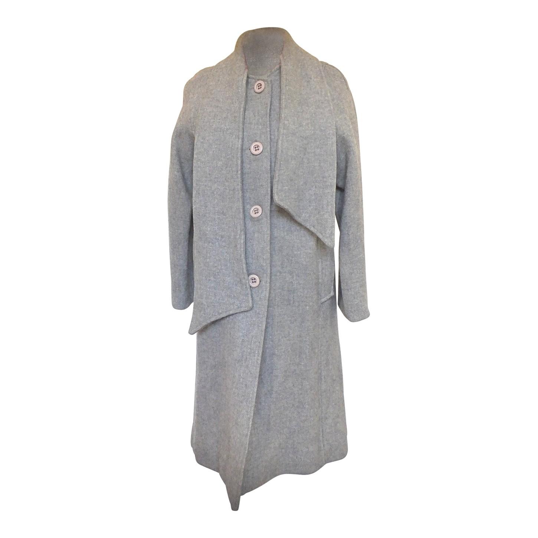 Manteau en laine 60s