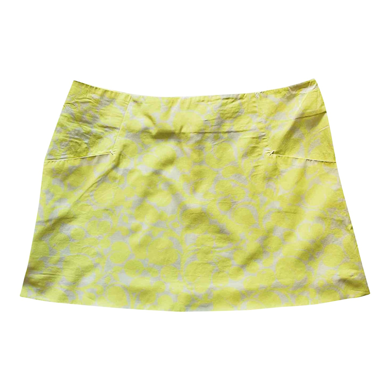 Mini jupe en coton