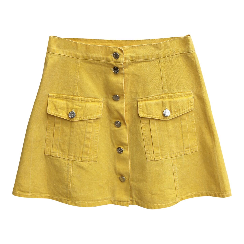 Mini-jupe en jean