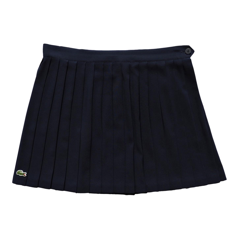 Mini jupe plissée Lacoste