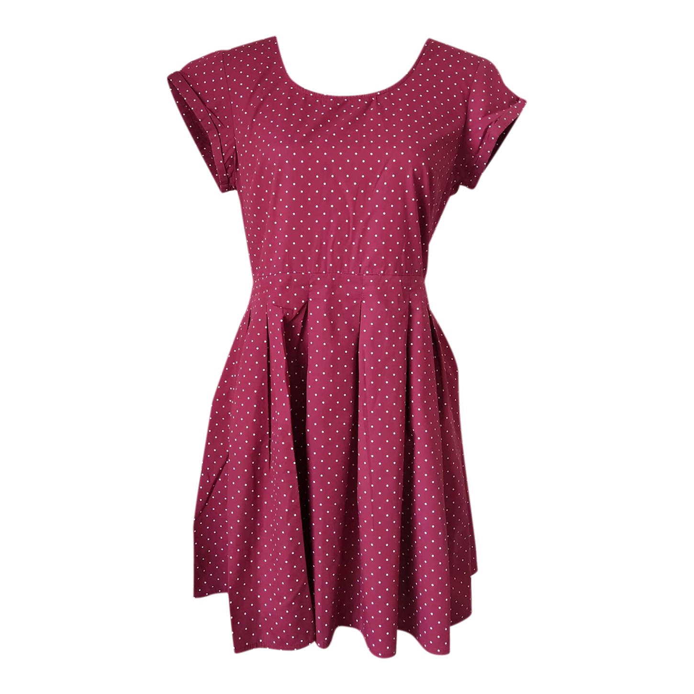 Mini robe à pois