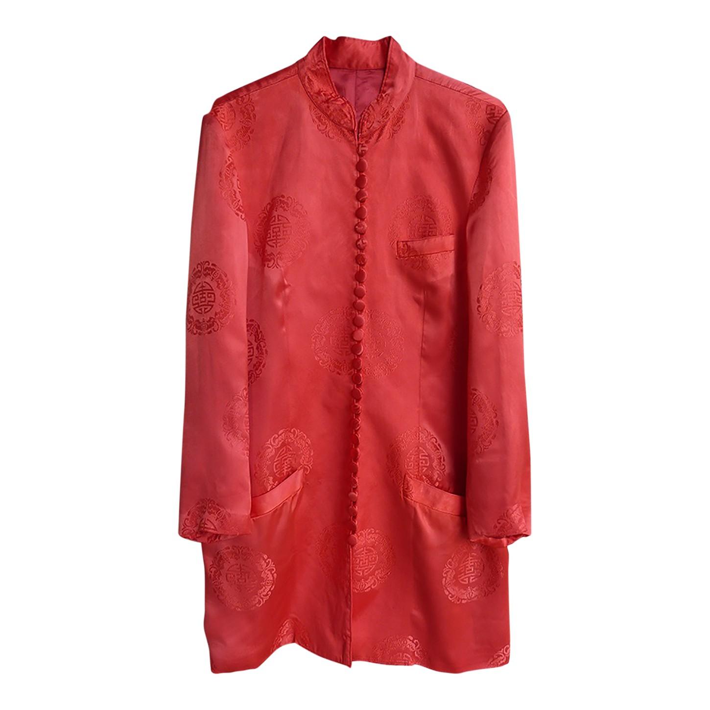 Mini robe chinoise en soie