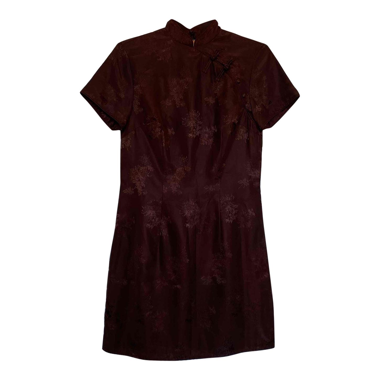Mini robe chinoise