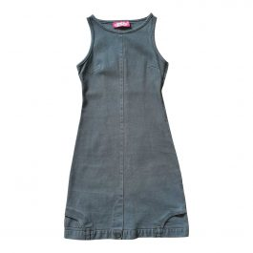 Mini robe en jean