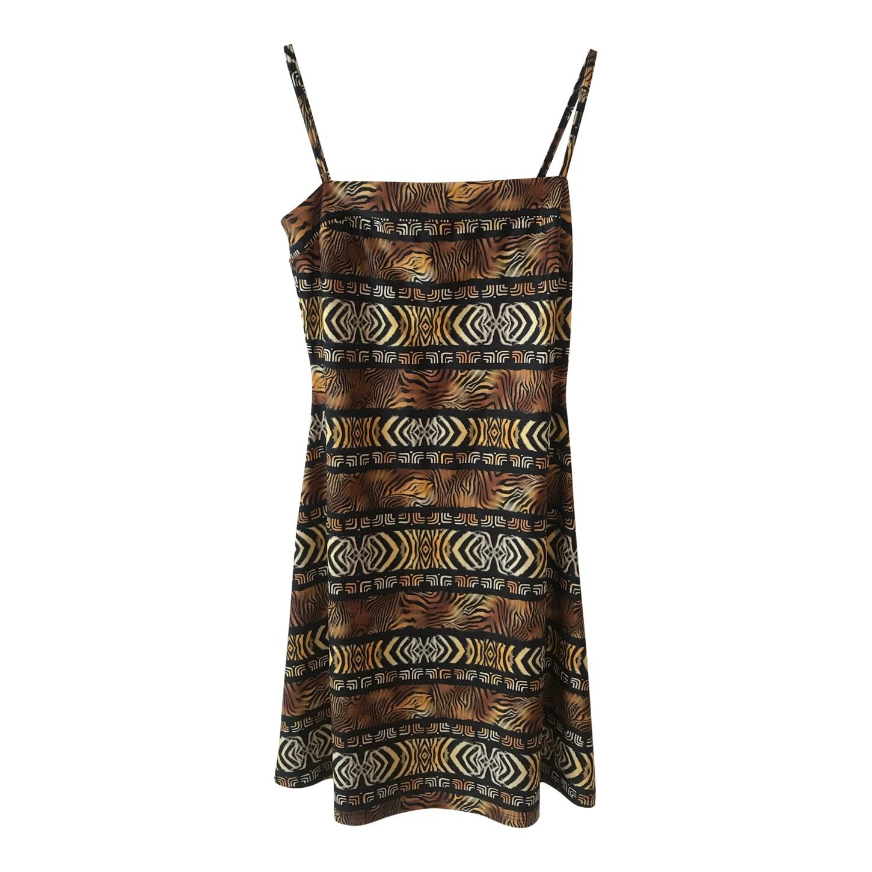 Mini robe léopard