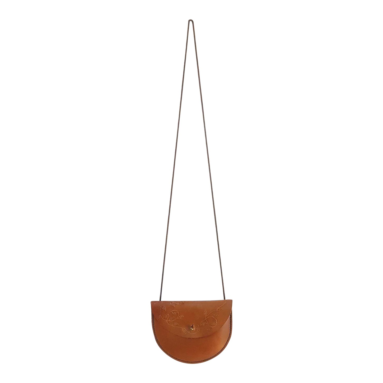 Mini sac bandoulière en cuir