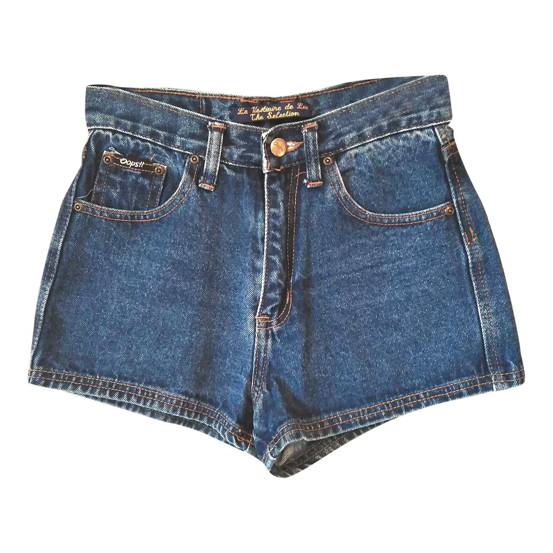 Mini short en jean