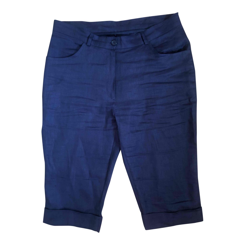 Pantalon court en lin