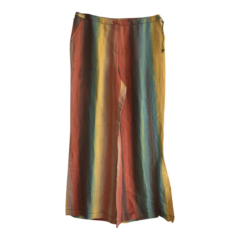 Pantalon en lin 90s