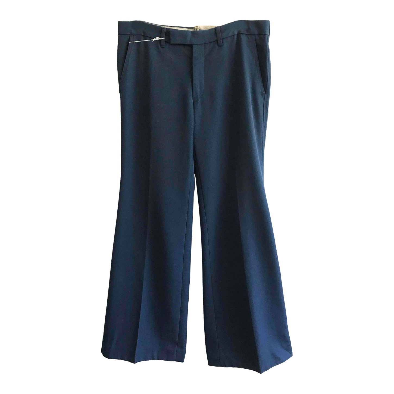 Pantalon flare en coton