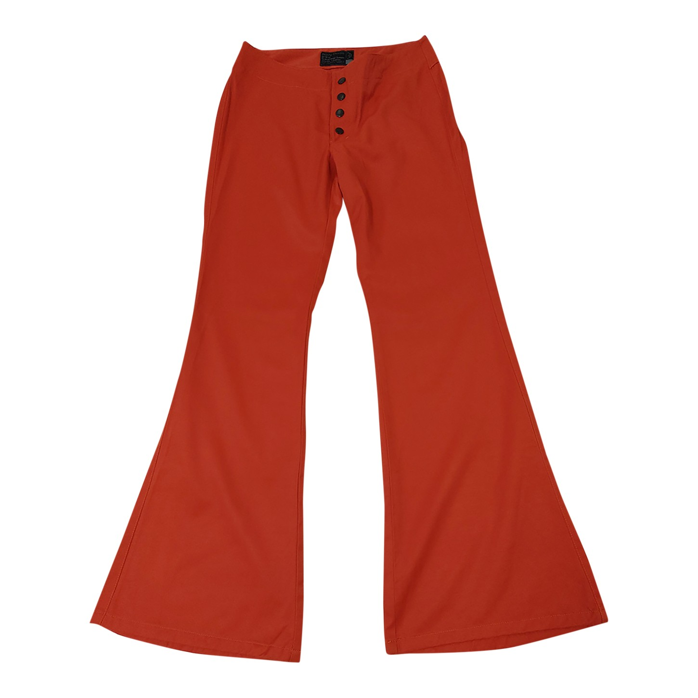 Pantalon flare taille basse