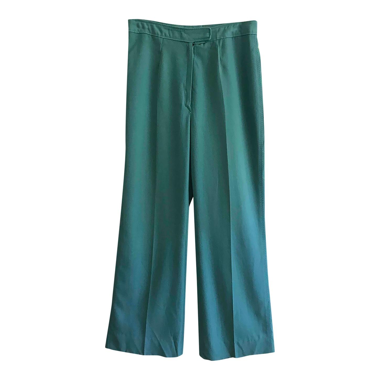 Pantalon flare taille haute