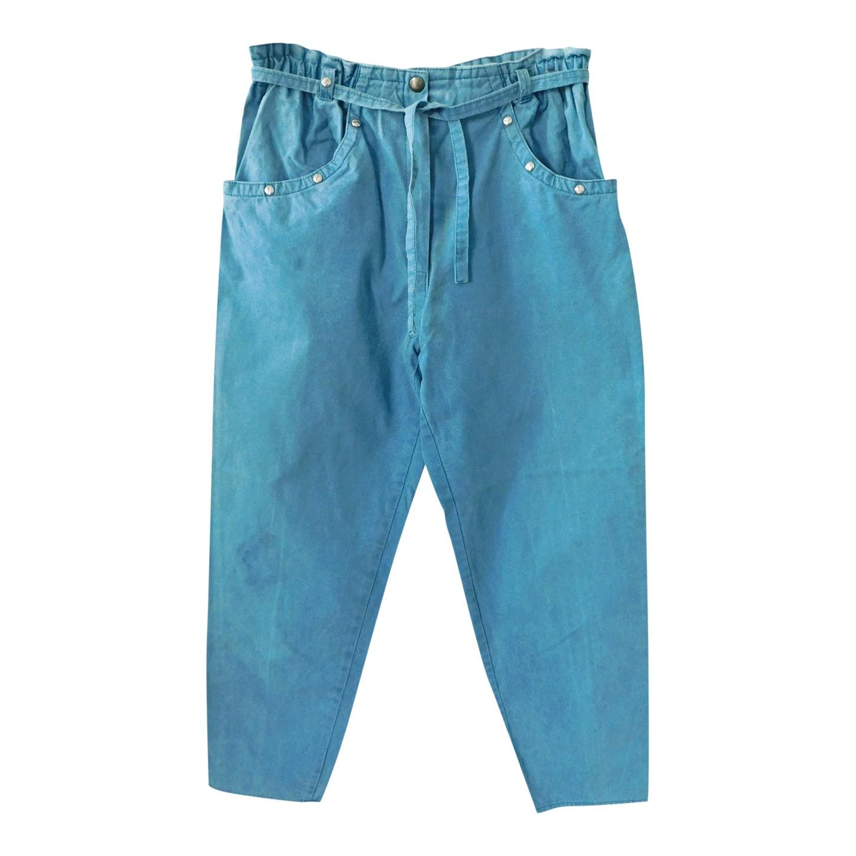 Pantalon taille haute 80's