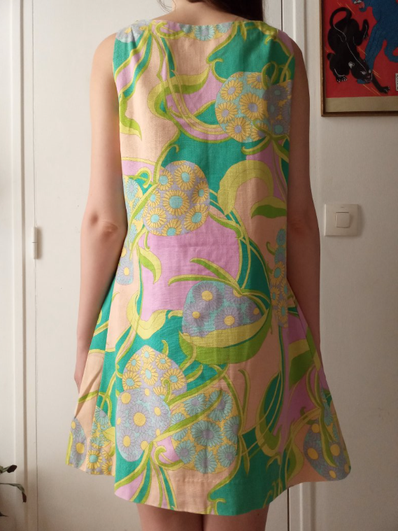 Robe trapèze 70's