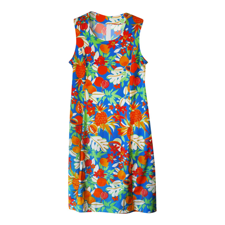 Robe à fleurs 80s