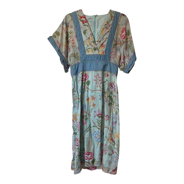 Robe Cacharel à fleurs