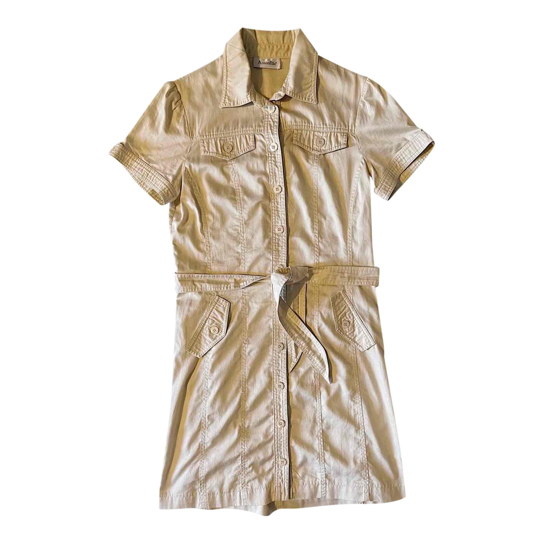 Robe courte saharienne