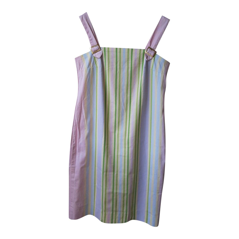 Robe en coton pastel