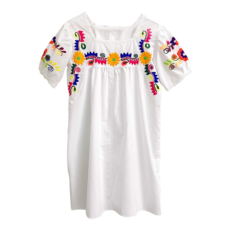 Robe mexicaine brodée