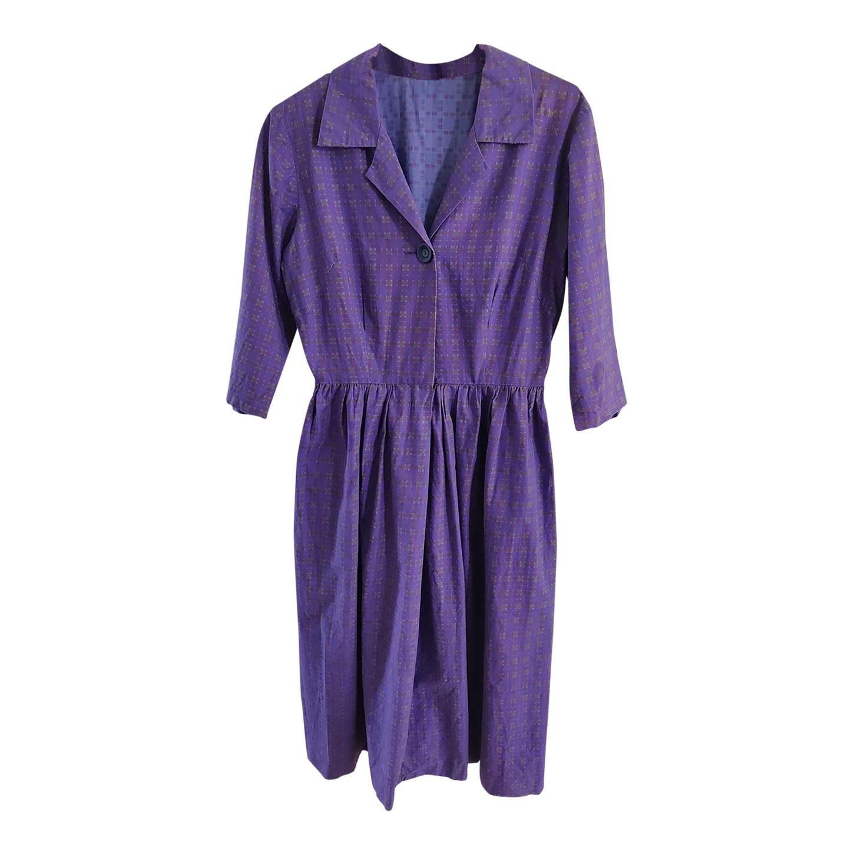 Robe midi en coton