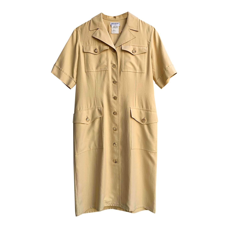 Robe saharienne Yves Saint Laurent