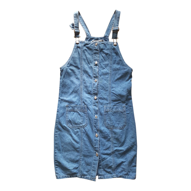 Robe salopette en jean