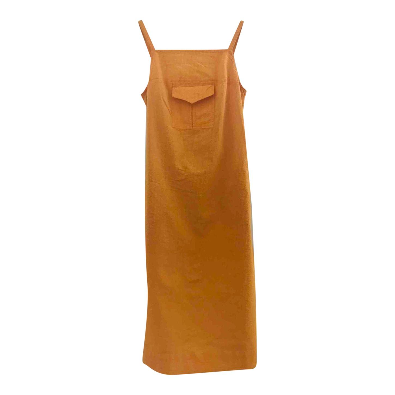 Robe tablier en coton