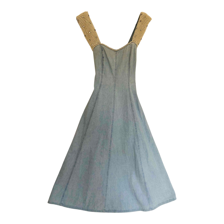 Robe trapèze à perles