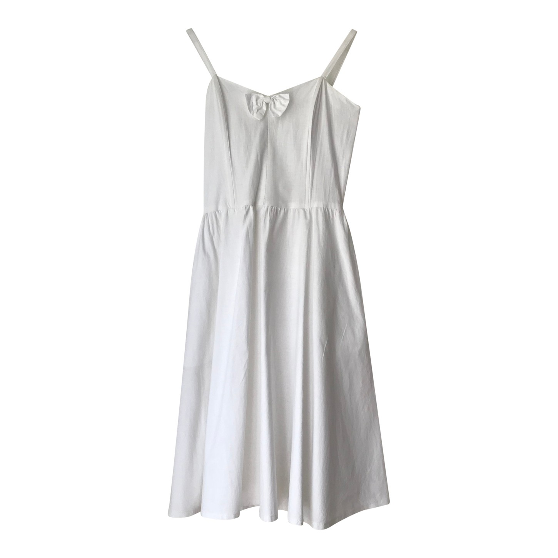 Robe trapèze en coton