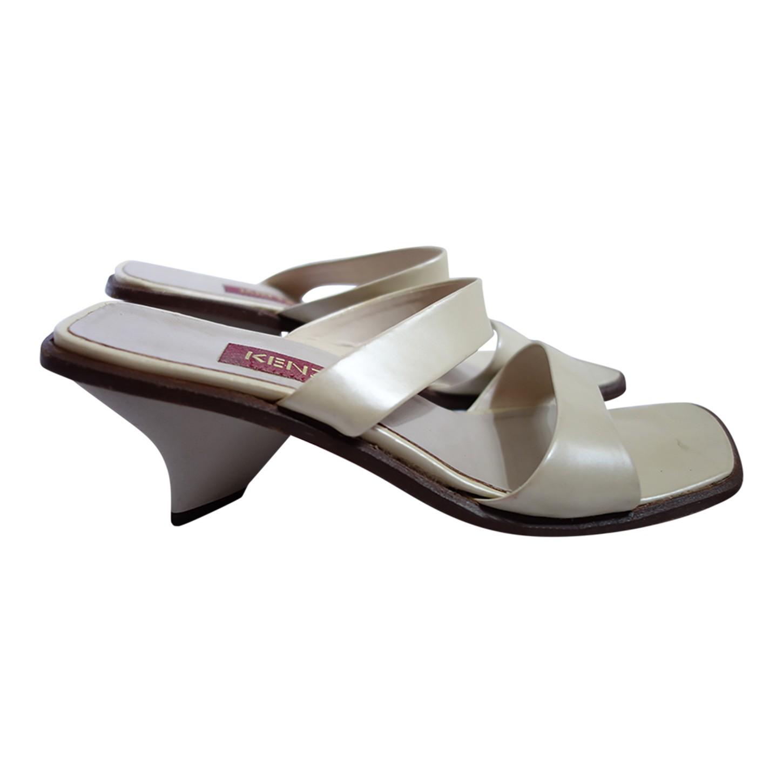 Sandales en cuir Kenzo