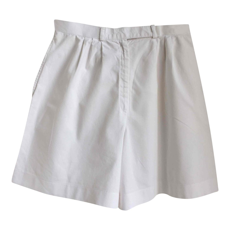 Short en coton 80's