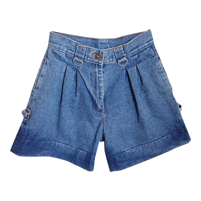 Short long en jean