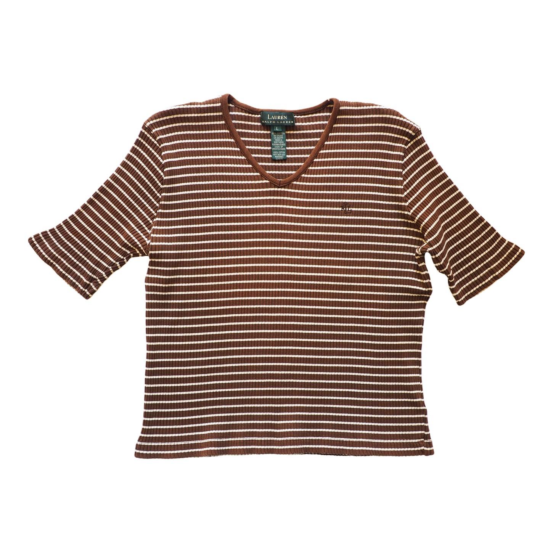 Tee-shirt à rayures Ralph Lauren