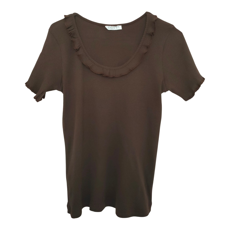 Tee-shirt à volants