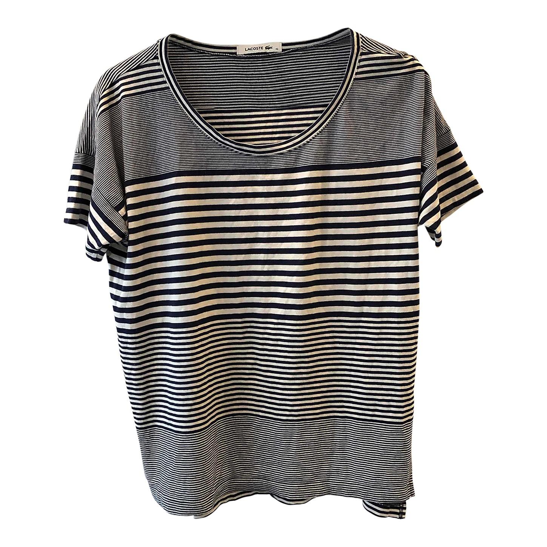 Tee-shirt marinière Lacoste