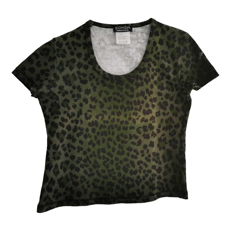 Tee-shirt Sonia Rykiel léopard