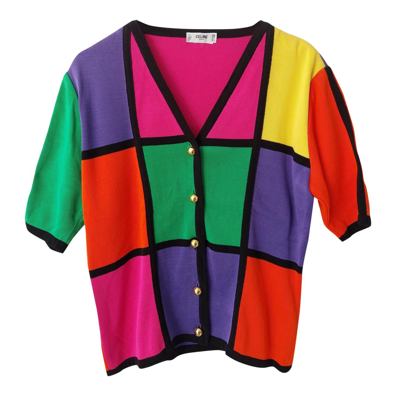 Top Céline multicolore