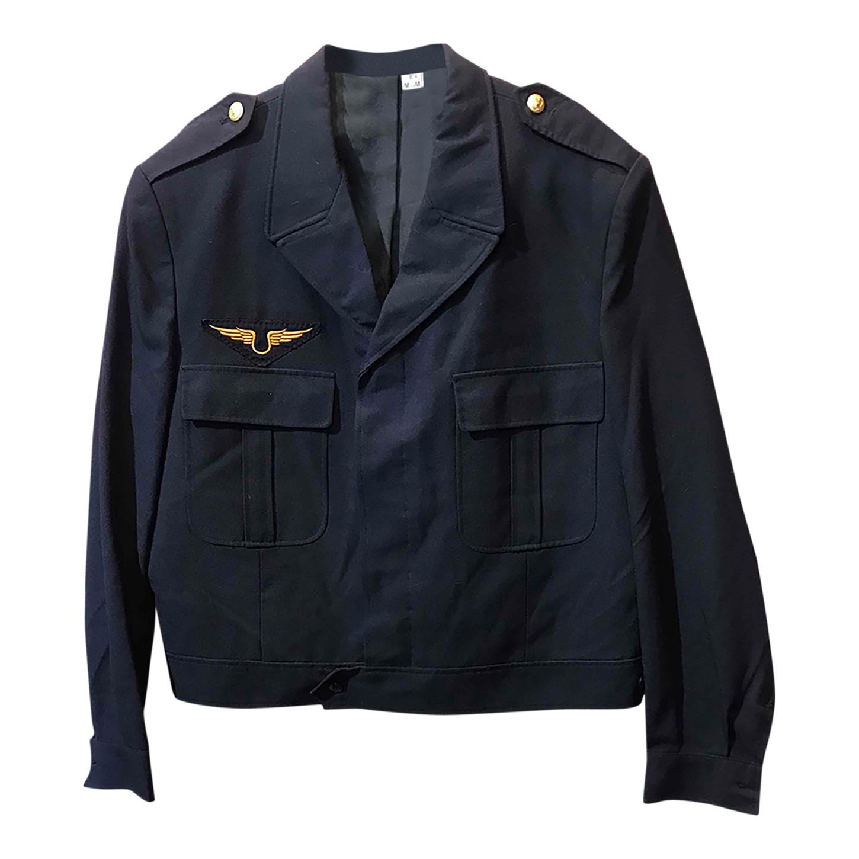 Veste bleu marine militaire