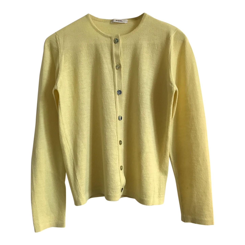 Cardigan en laine et soie