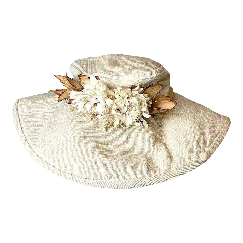 Chapeau en coton