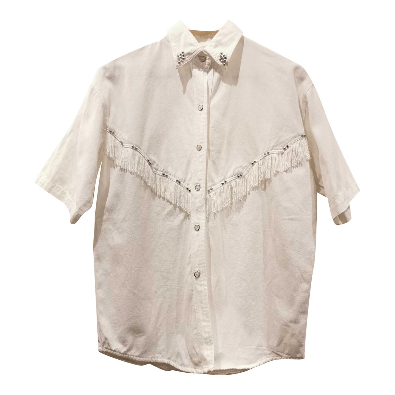Chemise à franges