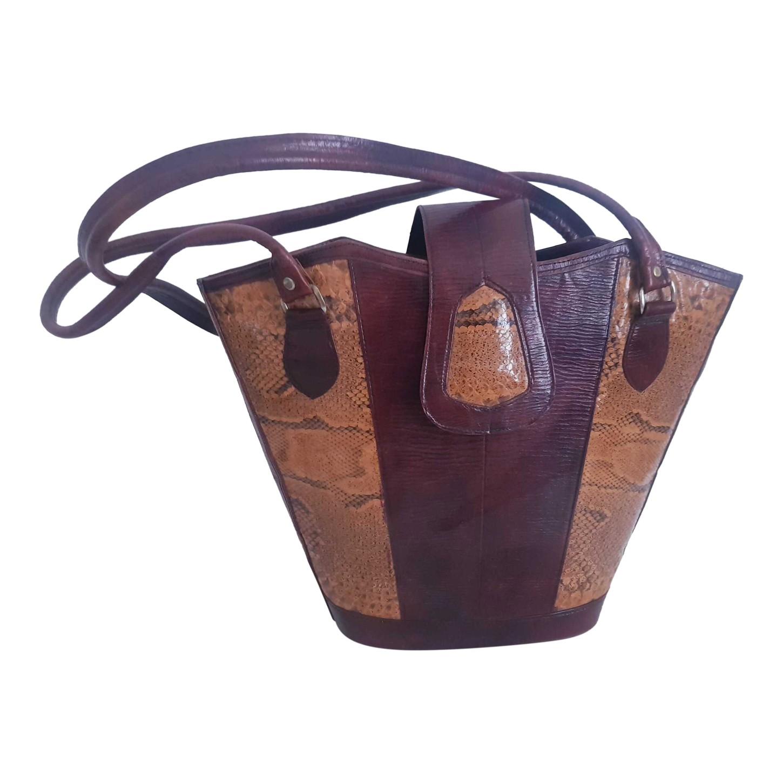 Grand sac en cuir