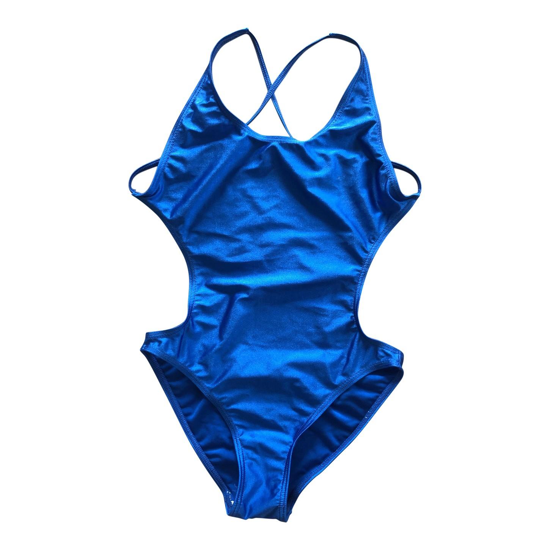 Maillot de bain bleu