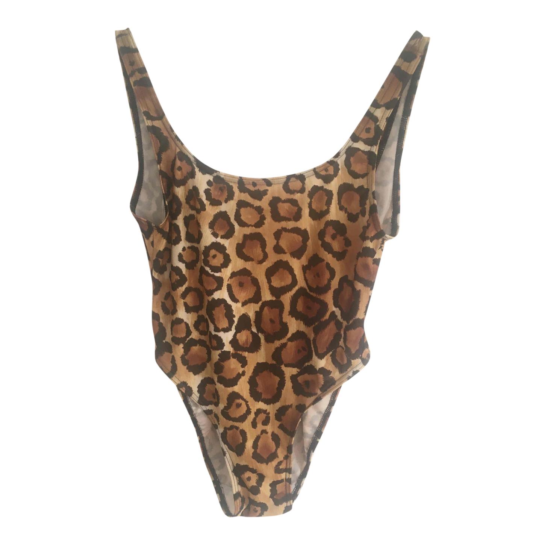 Maillot de bain léopard