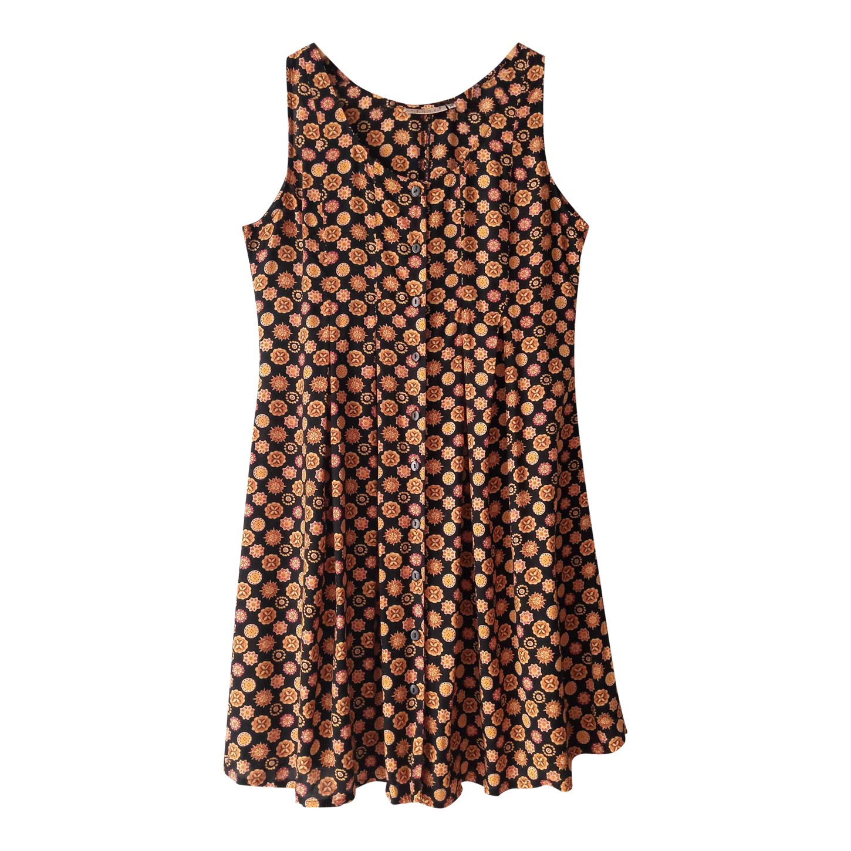 Mini robe boutonnée