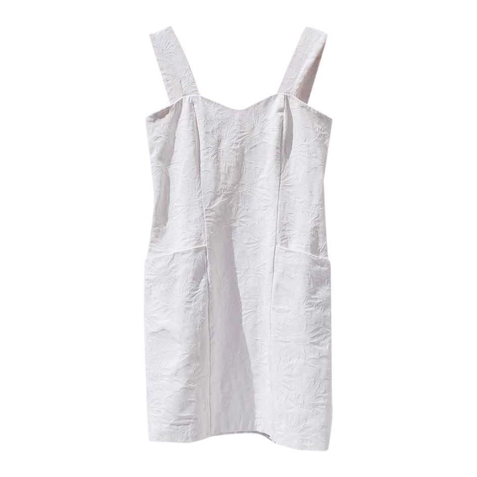 Mini robe en coton