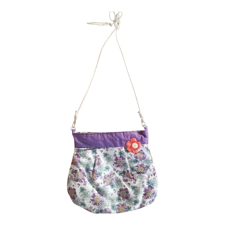 Mini sac à fleurs