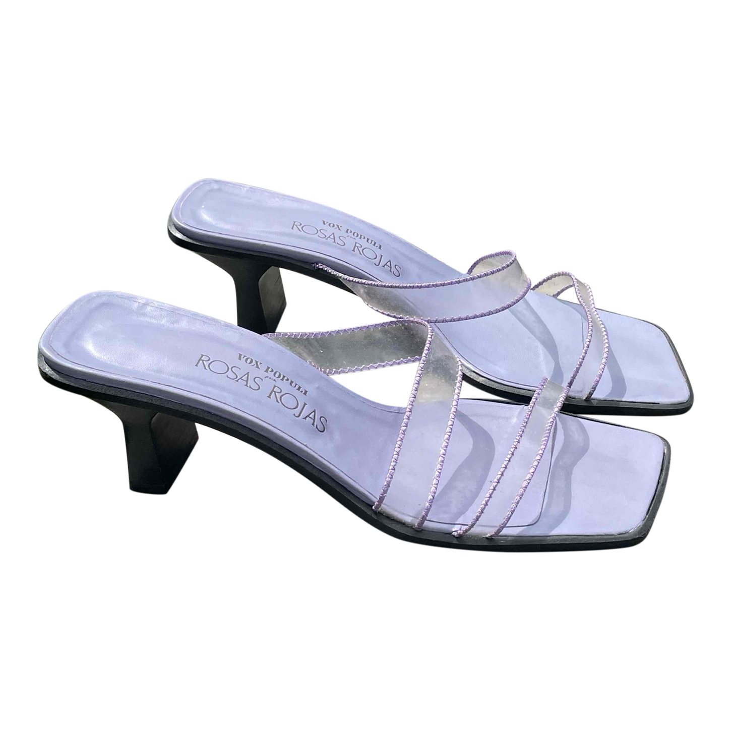 Mules lilas 90's