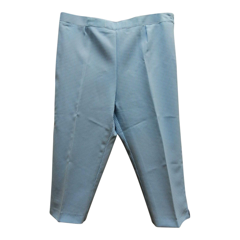 Pantalon court vichy
